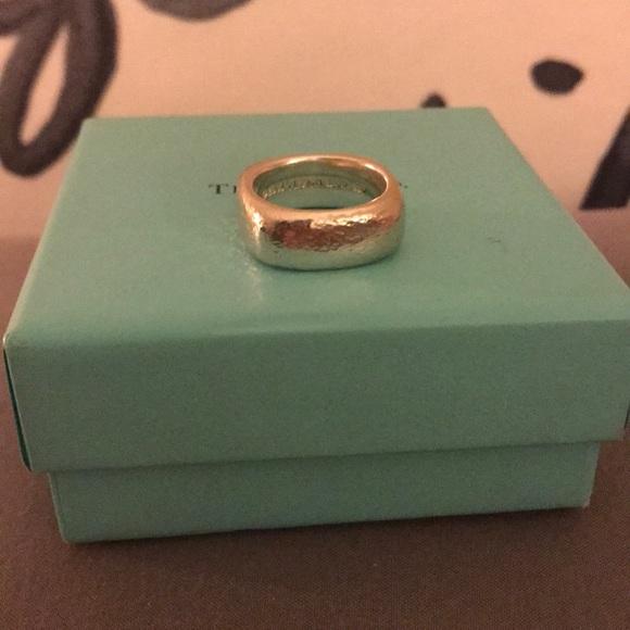 91eb990c1 Tiffany & Co. Jewelry   Tiffany Co Square Cushion Band Ring   Poshmark